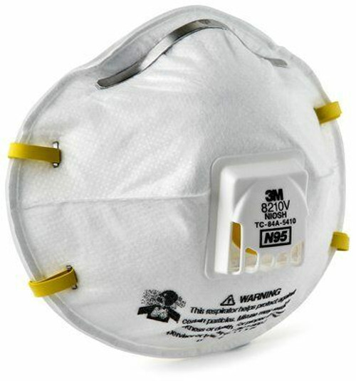 3M 8210V N95 Valved Particulate Respirator. Shop now!