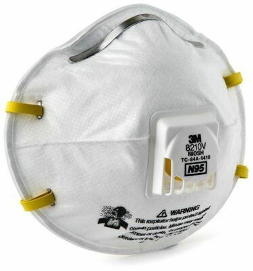 3M 8210V N95 Valved Particulate Respirator. Shop now!