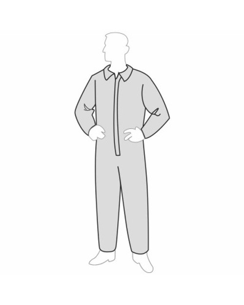 Buy Permagard Disposable Coveralls - Open Wrists and Ankles 18120. Shop Now!