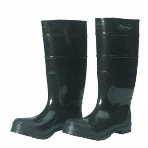 """Durawear Plain Toe 16"""" Knee high Black PVC boots - 1 Pair. Shop now!"""
