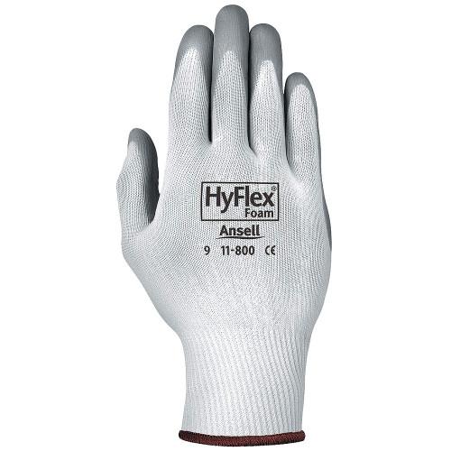 Ansell HyFlex Gray Foam Nitrile Palm Coated Light -Duty Glove with Knitwrist Cuff. Shop Now!