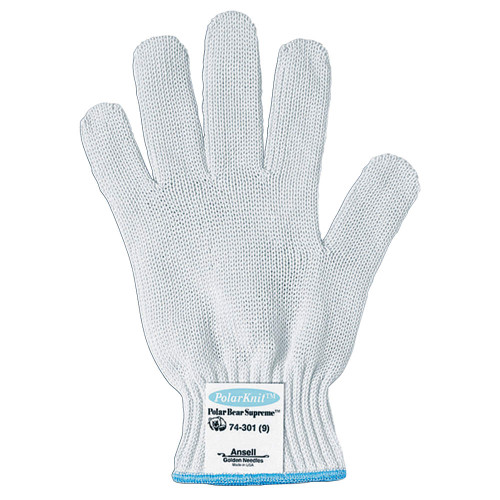 Ansell Polar Bear Supreme Food Processing Knitted Heavy Duty Tuff-Cuff Gloves. Shop now!