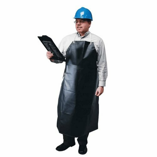Ansell 56-512 Hycar CPP Supported Heavyweight Black Apron 35 in x 45 in. Shop now!
