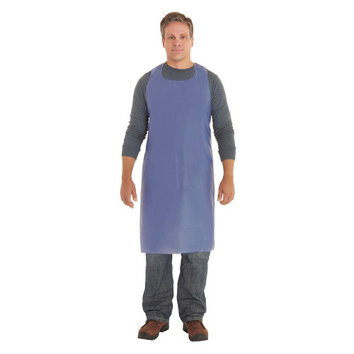 Ansell 56-015 Blue CPP Die Cut PVC Vinyl Apron. Shop Now!