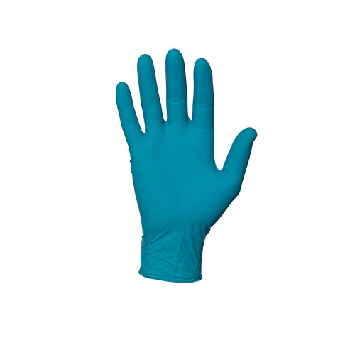 Ansell 92-575 TNT Blue Disposable Nitrile Glove with Rolled Beaded Cuff. Shop now!