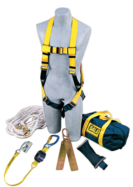 DBI 2104169 Roofer's Fall Protection Kit - Hinged Anchor. Shop Now!