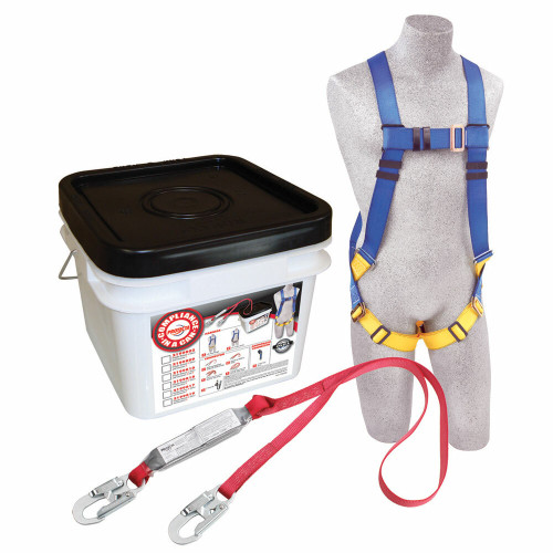Protecta 2199802 Compliance in a Can Light Roofer's Fall Protection Kit. Shop Now!