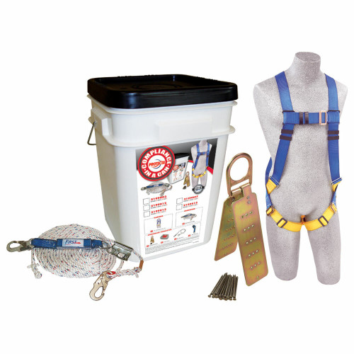 Protecta 2199803 Compliance in a Can Roofer's Fall Protection Kit. Shop Now!