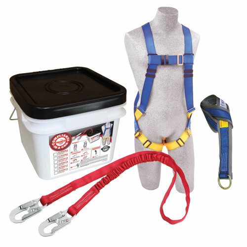 Protecta 2199810 Compliance in a Can Light Roofer's Fall Protection Kit with Tie-off Adaptor. Shop Now!