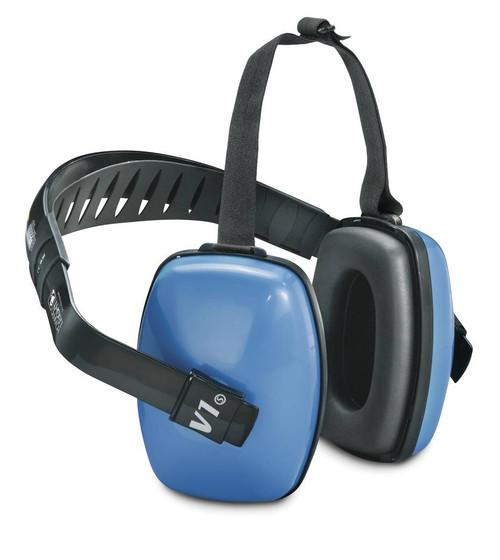 Howard Leight 1010925 Viking V1 Multiple-Position Earmuffs NRR 25 available in Light Blue Color. Shop now!