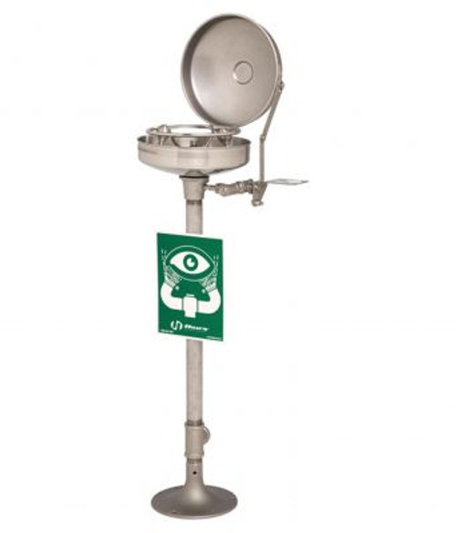 Haws 7777 Pedestal Mounted Eye or Face Wash. Shop Now!