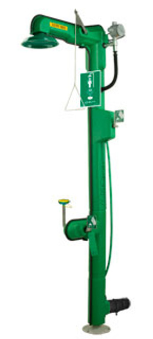 Haws 8317CTFP AXION® MSR Freeze Protected Shower and Eye/Face Wash. Shop Now!