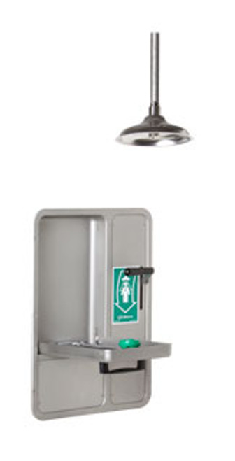 Haws 8356WCC AXION® MSR Barrier Free Recessed and Shower Eye/Face Wash. Shop Now!