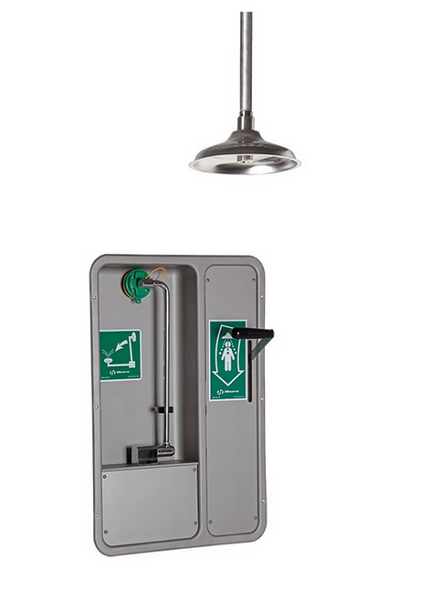 Haws 8355WCC Fully Recessed Combination Shower and Eye Face Wash. Shop now!