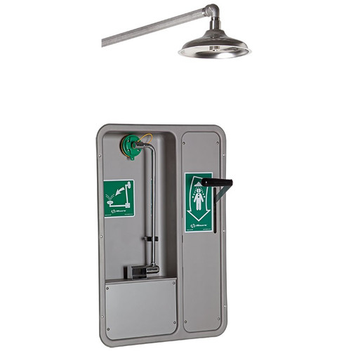Haws 8355WCW AXION MSR Barrier-Free Recessed Shower and Eye/Face Wash. Shop Now!