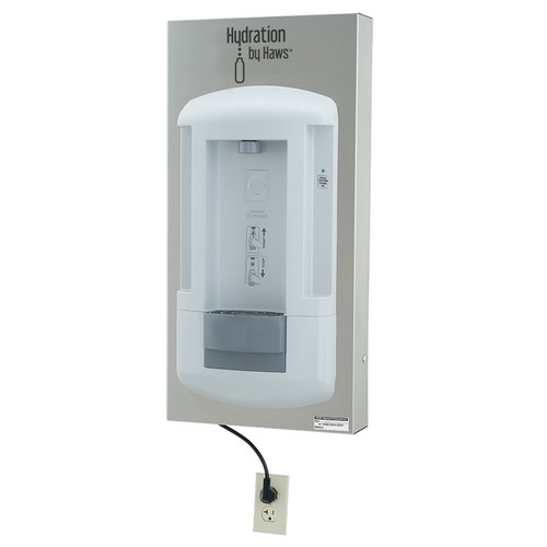 Haws 2000SMS Surface Wall-Mount Bottle Filling Station. Shop Now!