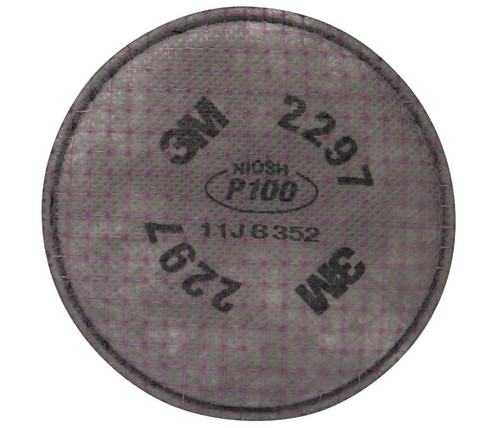 3M-2297 Advanced Particulate Filters P100 with Nuisance Level Organic Vapor