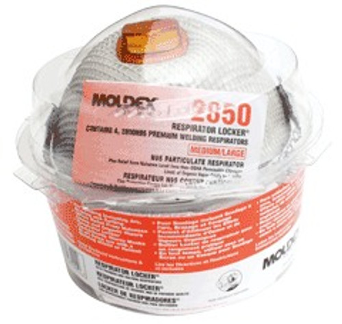 Moldex 2850 Welder Respirator Locker 2800 N95 Series. Shop now!