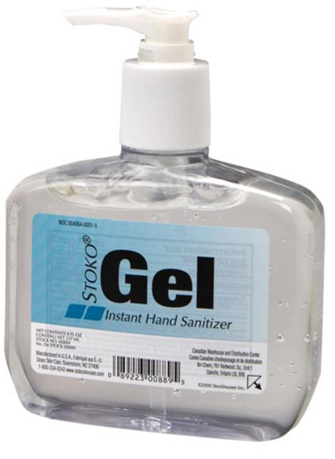 Stoko 10088912 8fl oz Pump Bottle Alcohol Hand Sanitizing Gel. Shop now!