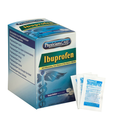 First Aid Only 90015 PhysiciansCare Ibuprofen Pain Reliever Medication 200mg. Shop Now!