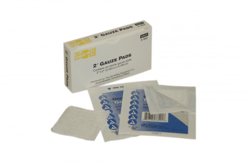 "First Aid Only 3-002 2""x 2"" Sterile Gauze Pads, 6 Per Box. Shop Now!"