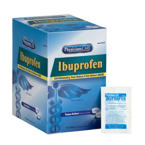 First Aid Only 90109 PhysiciansCare Ibuprofen, 125x2/box. Shop now!