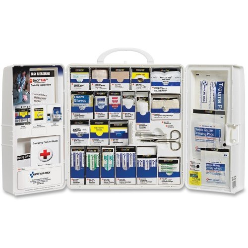 First Aid Only 1001-FAE-0103 Large Plastic SmartCompliance Cabinet, 50 Person. Shop Now!