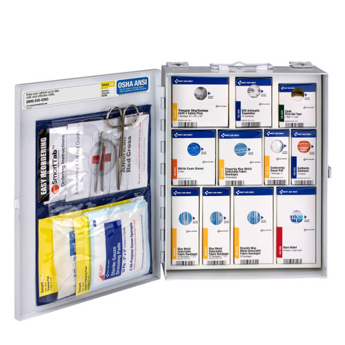 First Aid Only 1350-FAE-0103 Medium Metal SmartCompliance Food Service Cabinet. Shop Now!