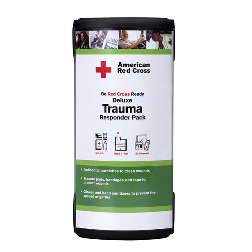 First Aid Only RC-645 American Red Cross Deluxe Trauma Responder Pack