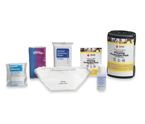 RC-650 First Aid Only Germ Guard Personal Protection Pack With N95 Mask. Shop Now!