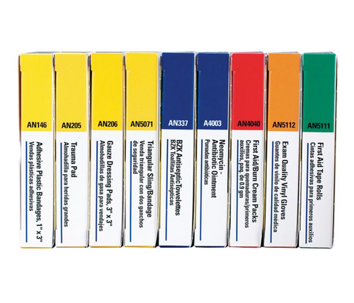 740010 First Aid Only Refill brick for 10 Unit Unitized First Aid Kits. Shop Now!