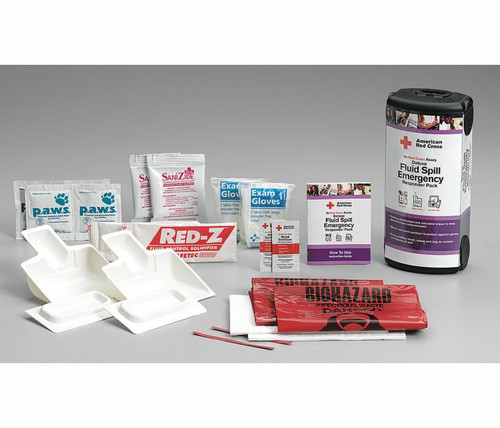 RC-657 First Aid  Fluid Spill Emergency Responder pack. Shop Now!
