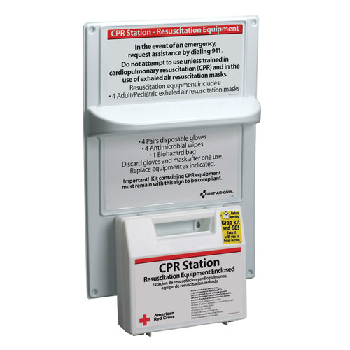 First Aid Only 9145-RC American Red Cross CPR Station. Shop Now!