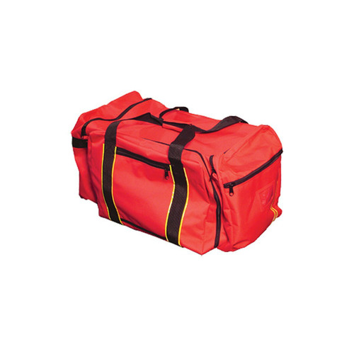 OK 3025 Large Gear Bag with a Huge 4.5 Cu. Ft. of Interior Storage available in Red Color and Reflective Trim along Straps. Shop now!