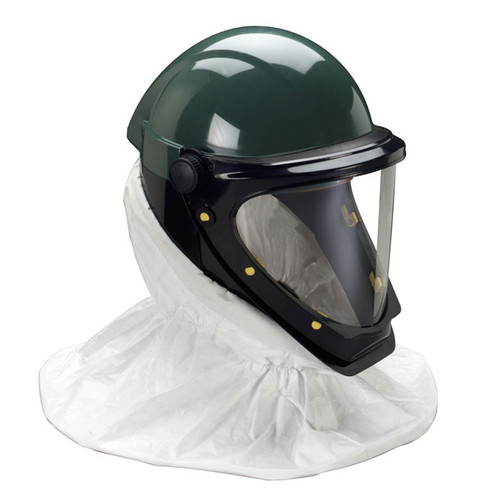 3M L-901SG Helmet with Wide View Faceshield available in Green Color. Shop now!
