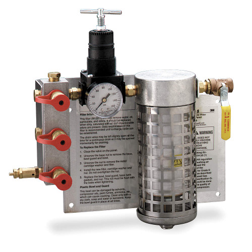 3M Compressed Air Filter and Regulator Panel. Shop now!