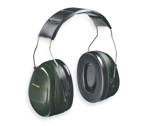 3M H7A Peltor Optime 101 Over the Head Earmuffs NRR 27 available in Green/Black‎ Color with Item number H7A. Shop Now!