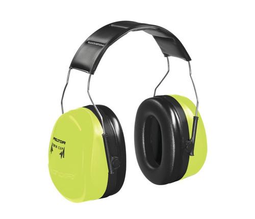 3M H10AHV Peltor Optime 105 Over the Head Earmuffs NRR 30 available in Hi Viz Green/Black Color with Item number H10AHV. Shop Now!
