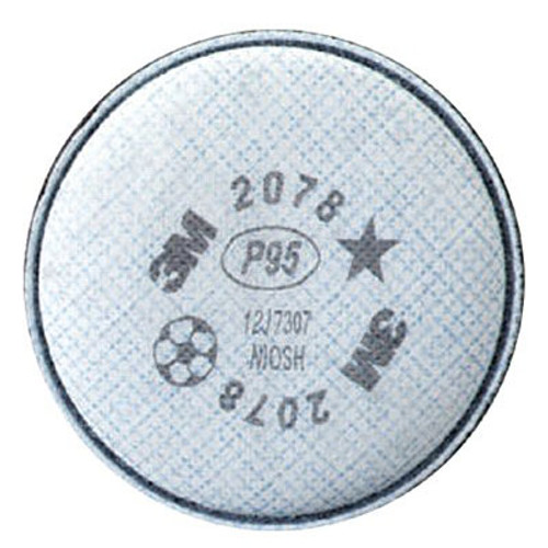 3M 2078 Particulate Filter P95 Respiratory Protection, with Nuisance Level Organic Vapor/Acid Gas Relief, Shop Now!