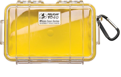 Pelican 1040 Case with Liner in Yellow. Shop Now!