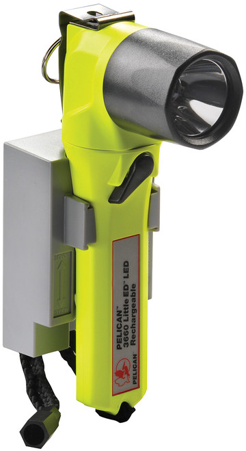 Pelican 3660 Little Ed Rechargeable Recoil LED Flashlight in Yellow. Shop now!