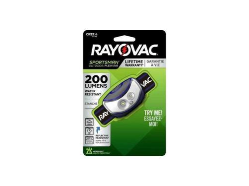 Rayovac SPHLTLED 3-in-1 LED Head-Lite
