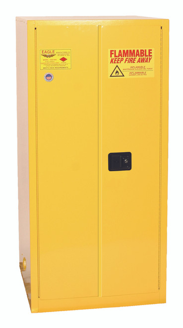 SAVE up to 25% on Eagle 2610X One Drum Vertical Safety Cabinet, 55 Gal. Self Close. Shop Now!