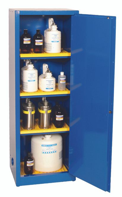 Buy Eagle CRA-1923 Metal Acid Corrosive Safety Cabinet 24 Gal Manual Close today and SAVE up to 25%.