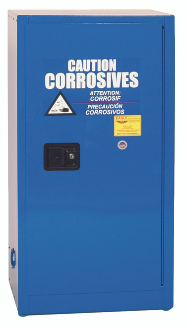 Buy Eagle CRA-1906 Metal Acid & Corrosive Safety Cabinet Manual Close today and SAVE up to 25%.