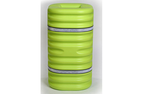 Buy Eagle 1706LM 6 In Column Protector Lime w/ Reflective Straps today and SAVE up to 25%.