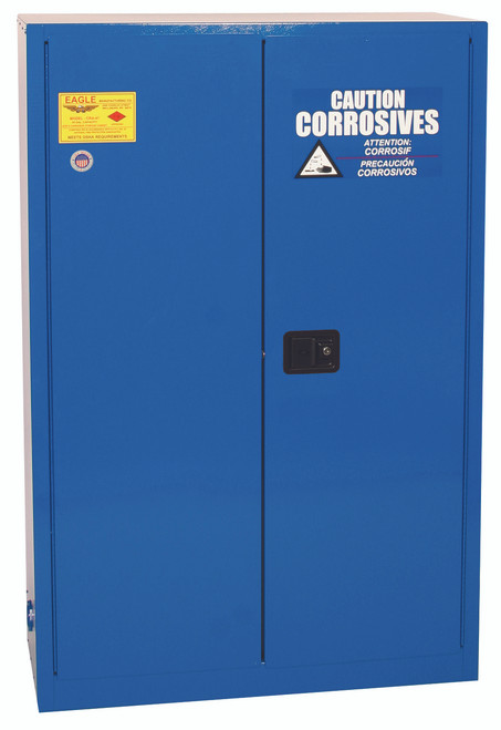 Buy Eagle CRA45X Self Close 45 Gal Metal Acid & Corrosive Safety Cabinet today and SAVE up to 25%.
