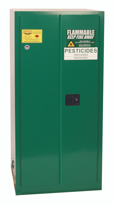 Buy Eagle PEST2610X Self Close 55 Gal Pesticide Safety Storage Cabinet today and SAVE up to 25%.