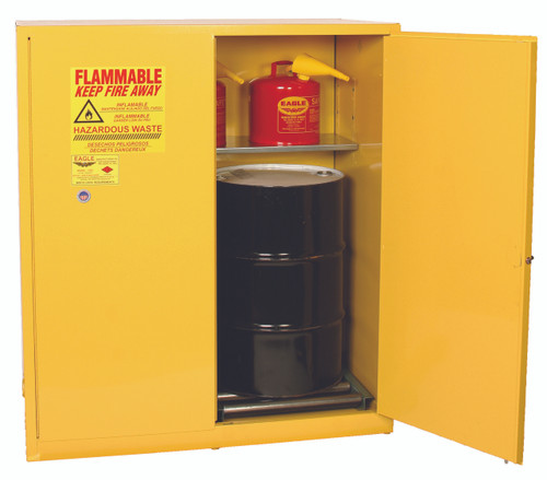 Buy Eagle HAZ1955X Safety Cabinet 110 Gal Yellow 2 Door Manual Close today and SAVE up to 25%.