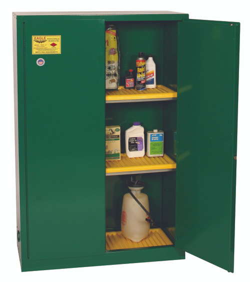 Buy Eagle PEST47X Manual Close 45 Gal Pesticide Safety Storage Cabinet today and SAVE up to 25%.